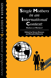Single Mothers In International Context - 1st Edition book cover