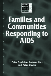 Families and Communities Responding to AIDS - 1st Edition book cover