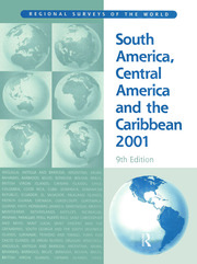 South America 2001 - 9th Edition book cover