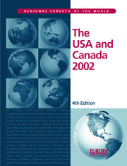 The USA and Canada 2002 - 4th Edition book cover