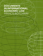 Documents in International Economic Law - 1st Edition book cover