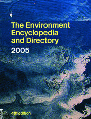 The Environment Encyclopedia and Directory 2005 - 1st Edition book cover