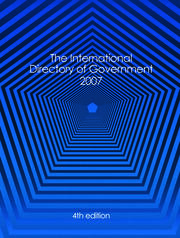 International Directory of Government 2007 - 4th Edition book cover