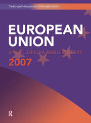 European Union Encyclopedia and Directory 2007 - 7th Edition book cover