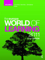 The Europa World of Learning 2007 Volume 2 - 1st Edition book cover