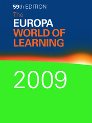 The Europa World of Learning 2009