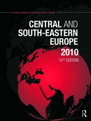 Central and South Eastern Europe 2010 - 10th Edition book cover