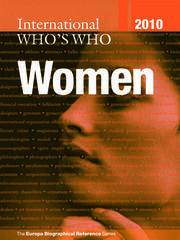 International Who's Who of Women 2010 - 7th Edition book cover