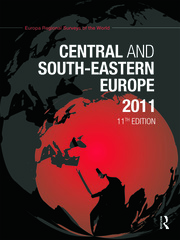 Central and South-Eastern Europe 2011 - 11th Edition book cover