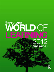 The Europa World of Learning 2012
