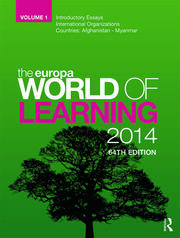 The Europa World of Learning 2014