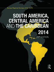 South America, Central America and the Caribbean 2014 - 22nd Edition book cover