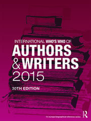 International Who's Who of Authors and Writers 2015 - 30th Edition book cover