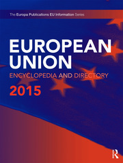 European Union Encyclopedia and Directory 2015 - 15th Edition book cover