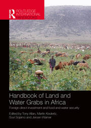Handbook of Land and Water Grabs in Africa - 1st Edition book cover