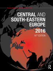 Central and South-Eastern Europe 2016 - 16th Edition book cover