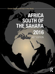 Africa South of the Sahara 2016