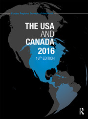 The USA and Canada 2016 - 18th Edition book cover
