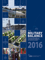 The Military Balance 2016 - 1st Edition book cover