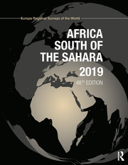 Africa South of the Sahara 2019