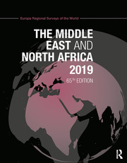 The Middle East and North Africa 2019 - 65th Edition book cover