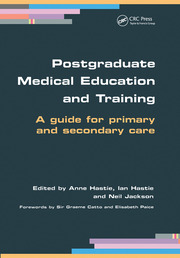 Postgraduate Medical Education and Training - 1st Edition book cover
