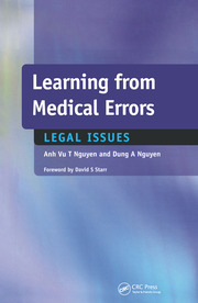 Learning from Medical Errors : Legal Issues - 1st Edition book cover
