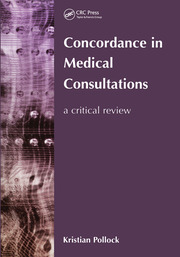 Concordance in Medical Consultations - 1st Edition book cover
