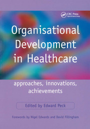 Organisational Development in Healthcare - 1st Edition book cover