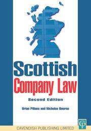 Scottish Company Law - 1st Edition book cover