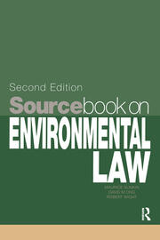 Sourcebook on Environmental Law - 1st Edition book cover