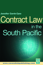 South Pacific Contract Law - 1st Edition book cover
