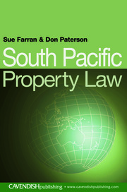 South Pacific Property Law - 1st Edition book cover