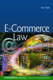E-Commerce Law - 1st Edition book cover