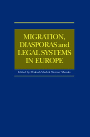 Migration, Diasporas and Legal Systems in Europe - 1st Edition book cover