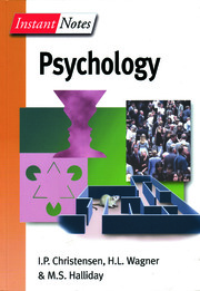 BIOS Instant Notes in Psychology - 1st Edition book cover