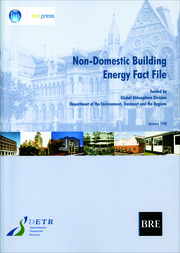 Non-Domestic Building Energy Fact File - 1st Edition book cover