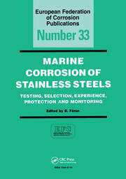 Marine Corrosion of Stainless Steels: Chlorination and Microbial Aspects, EFC 10 - 1st Edition book cover