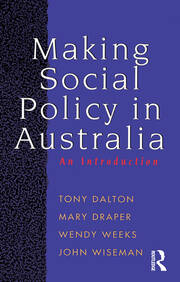 Making Social Policy in Australia - 1st Edition book cover