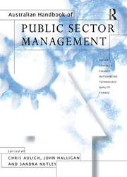 Australian Handbook of Public Sector Management - 1st Edition book cover