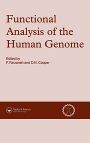 Functional Analysis of the Human Genome - 1st Edition book cover