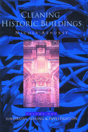 Cleaning Historic Buildings: v. 1 - 1st Edition book cover