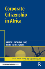 Corporate Citizenship in Africa - 1st Edition book cover