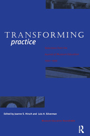 Transforming Practice - 1st Edition book cover