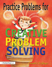 Practice Problems for Creative Problem Solving - 1st Edition book cover