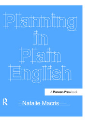 Planning in Plain English : Writing Tips for Urban and Environmental Planners - 1st Edition book cover
