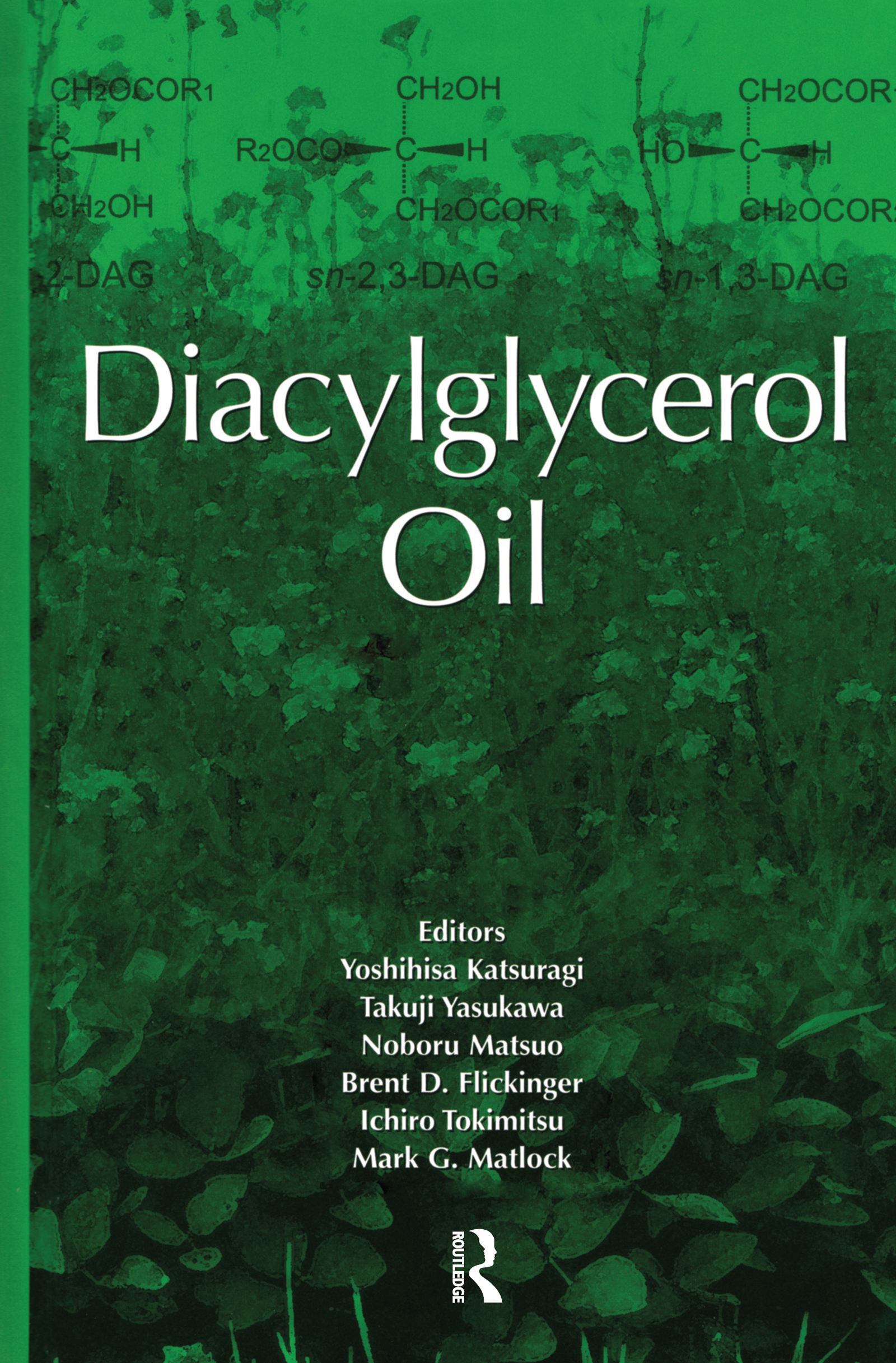 Diacylglycerol Oil - 1st Edition book cover