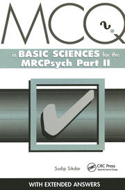 MCQs in Basic Sciences for the MRCPsych, Part Two - 1st Edition book cover