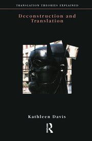 Deconstruction and Translation - 1st Edition book cover