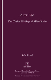 Alter Ego - 1st Edition book cover